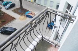 balustrady łódzkie, balustrada balkonowa, kraty okienne